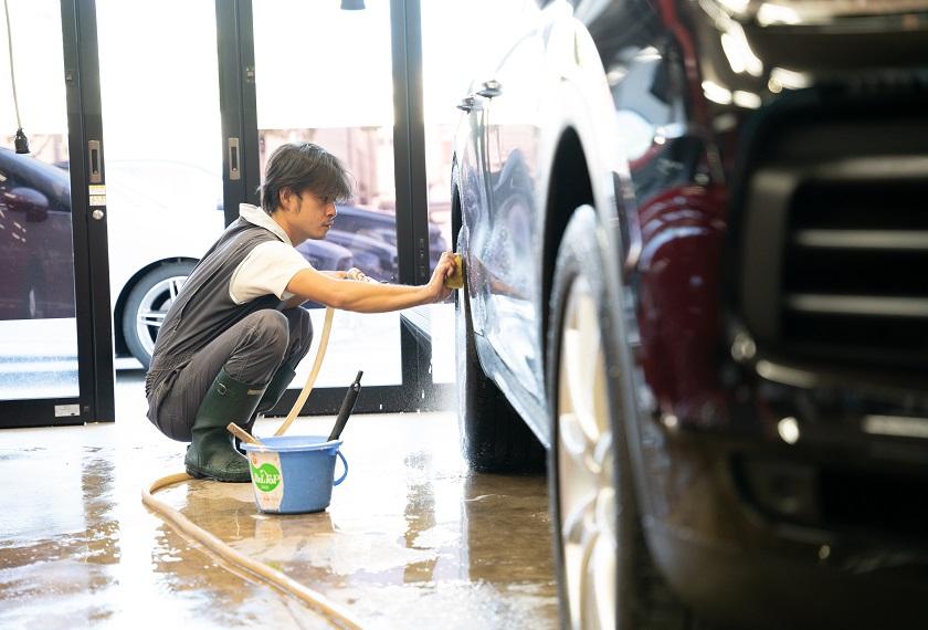 純水を使用した洗車で汚れないボディーに|コーティングメンテナンス|和歌山で車のメンテナンスならCBW